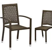 Плетеное кресло для кафе, ресторана Колибри, AWC фото