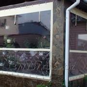 Мягкие окна для беседок и верандр фото