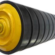 Ролики конвейерные тяжелые (буферные), могут изготавливатся с подшипниками и присоеденительными размерами по требованию заказчика. фото