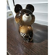 Фарфоровая статуэтка Мишка олимпийский фото