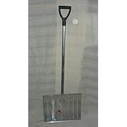 Лопата 460*380 алюминиевая, с алюм. черенком фото