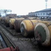 Железнодорожные б/у цистерны, котлы, резервуары. фото
