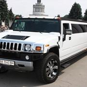 Прокат лимузина Hummer H2 Белый фото