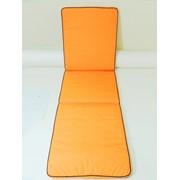 "Матрас на шезлонг ""Orange"" фото"