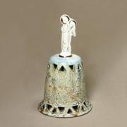 Колокольчик фарфоровый прорезной фото