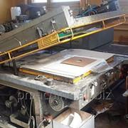 Шелкотрафаретный станок Svecia с уф-сушкой, бу печатное оборудование фото