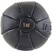 Медбол FS№1000 1 кг нат. кожа фото