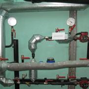 Монтаж систем автоматического регулирования тепловой энергии фото