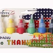 Краска для ткани Tinta viva Hobby, 6 цв (фл) фото