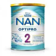 Молочная смесь Nan 2 - 6-12 мес, 400гр фото