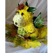 Флористические сувениры, эксклюзивные флористические композиции и букеты, свадебная флористика, оформление презентаций фото