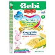 Бэби каша низкоаллергенная кукурузная с пребиотиками б/м (с 5 мес) 200г фото