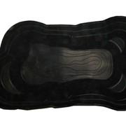 Пруд декоративный 4200л черный (410х230х90см) фото