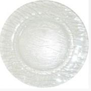 Блюдо круглое прозрачное