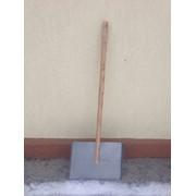 Лопаты для уборки снега дюралюминий 2мм размер 465 на 375 см. фото