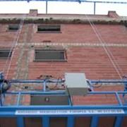 Люлька строительная фасадная  фото