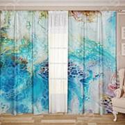 Комплект штор ТамиТекс «Белый Муар 06» фото