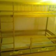 Надежная Двухъярусная Кровать с дерева ольхи. фото