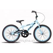 Велосипед детский 20'' PRIDE JACK сине-белый глянцевый SKD-19-70 фото