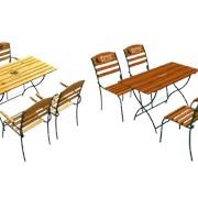 Комплект(стол,стул) Stella фото