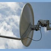 Установка спутниковых антенн за городом фото