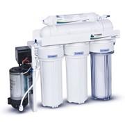 Система очистки питьевой воды методом обратного осмоса Leader Standart Pump RO-5 фото