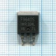 Транзистор IRF9640S фото