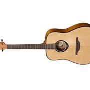 Левосторонняя акустическая гитара Lag Tramontane TL-66D (NAT) фото