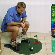 Гольф для туалета-Toilet Golf фото