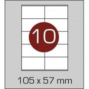 Этикетки самоклеящиеся 105х57 мм фото