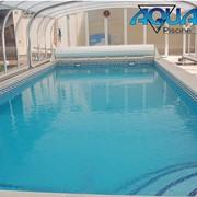 Монтаж бассейнов фото