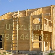 Деревянные дома из профилированного бруса. фото