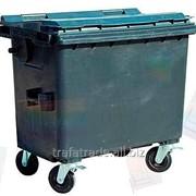 Контейнер для раздельного сбора мусора пластиковый 660 литров фото