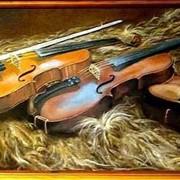 Три скрипки на овчине фото