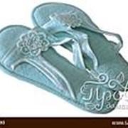Тапочки женские Soft Cotton NIL бирюзовый 36-38 фото
