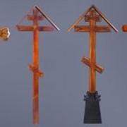 Деревянные надмогильные кресты фото