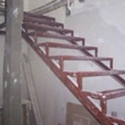 Лестница каркас фото