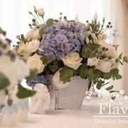 Оформление цветами свадеб и других торжеств фото