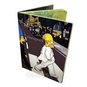 Оригинальная обложка для паспорта Симпсоны любят Битлз фото