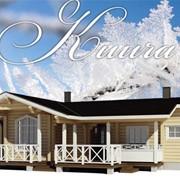 Дома деревянные финские Kuura фото