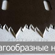 Зигзагообразные ножи фото