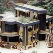 Типовой проект двухэтажного девятикомнатного жилого дома с мансардой фото