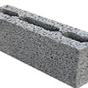 Блок перегородочный (шлакоблок) фото