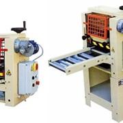 Двухсторонний OSAMA SBR 250 Полуавтоматический двухваликовый клеенаносящий станок для заготовок из массива. Полезная рабочая ширина обработки станка - 250 мм. Станки входят в складскую программу! фото