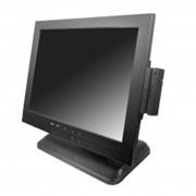 Монитор LCD 15 OL-1502, сенсорный (RS232), черный фото