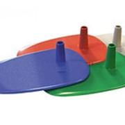 BASE-PL Универсальная пластиковая подставка для трубок Ø 9 и Ø 12 мм (красный) фото