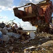 Сбор, вывоз и захоронение бытовых отходов. фото
