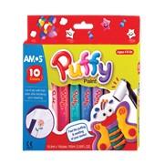 Краски объемные Puffy 10 цветов фото