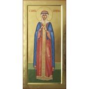 Мерная икона святой Софии Слуцкой фото