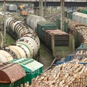 Перевозка груза железнодорожным транспортом фото